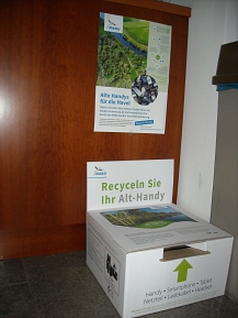 Alt-Handy Recycling-Box © Flecken Ottersberg